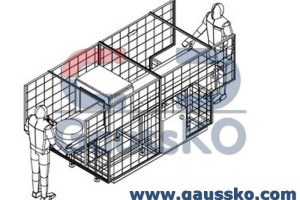AC demagnetizer layout