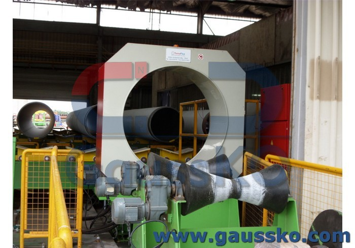 Smagnetizzare tubi diametri elevati