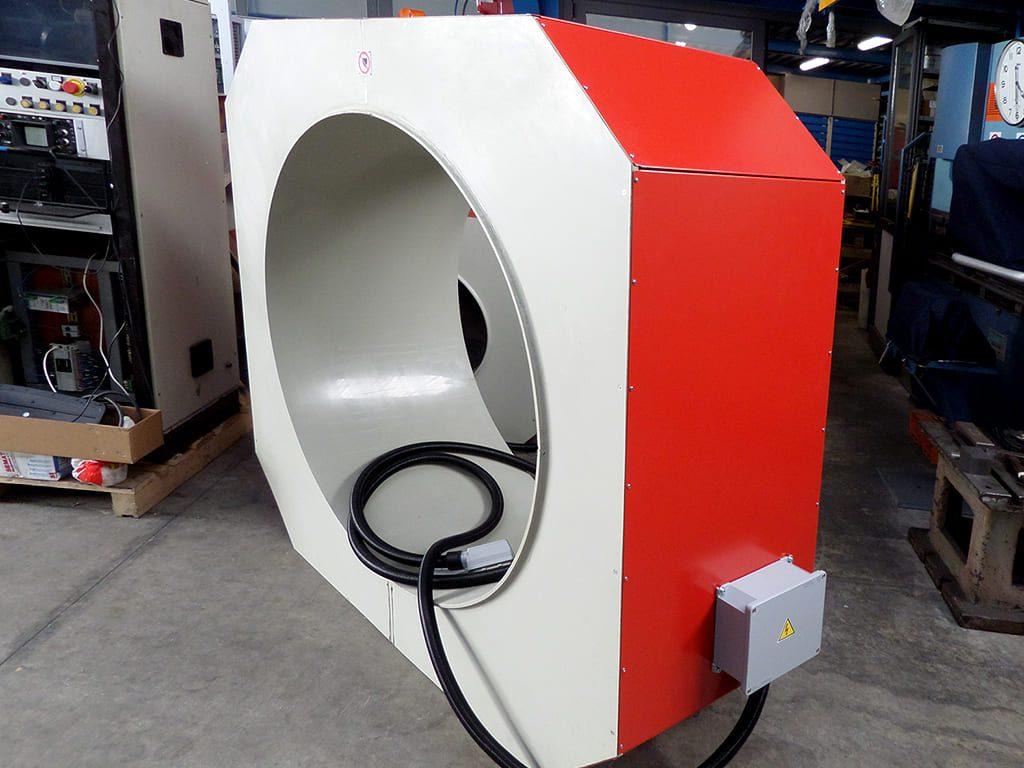 Tunnel rimozione magnetismo residuo